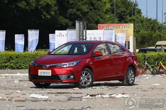 [腾讯行情]北京 丰田卡罗拉优惠高达1.2万