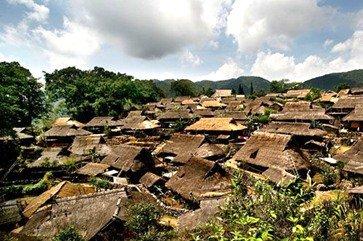 沧源翁丁佤族原始部落的慢生活
