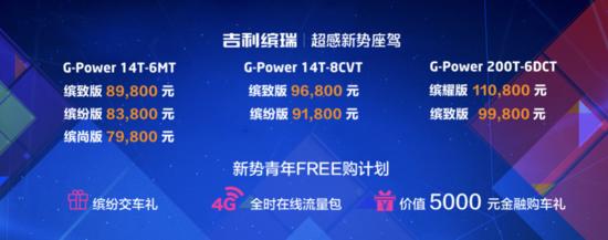 「缤纷时光  驾享FREE」吉利缤瑞北京超感试驾会 领潮绽放