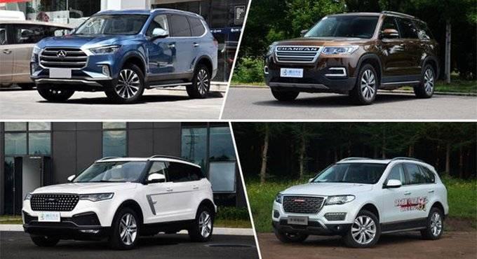 四款热门自主中大型SUV推荐 正面怼合资