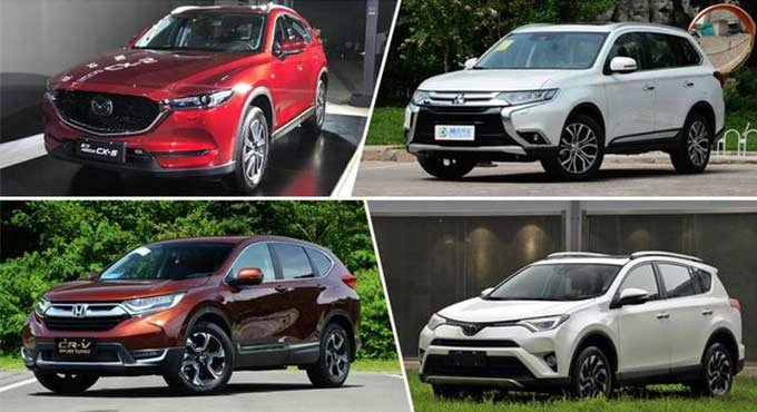 日系SUV统治市场 总有一款适合你的需  求
