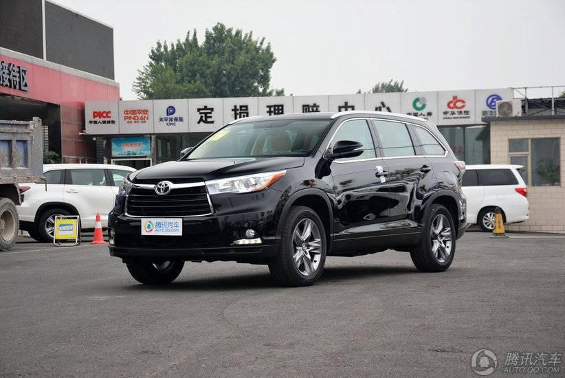 [腾讯行情]北京 丰田汉兰达23.98万起售
