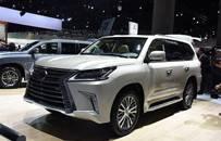 全尺寸豪华SUV 2019款雷克萨斯LX 570正式发售