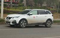 东风标致5008国内谍照曝光 定位7座中型SUV