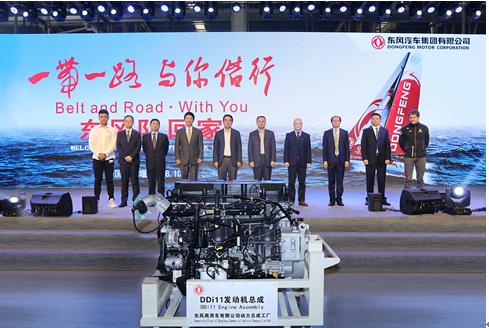 东风公司海外品牌推广五年捧回冠军奖杯