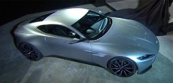 """阿斯顿马丁db10亮相 """"007""""的最新座驾"""