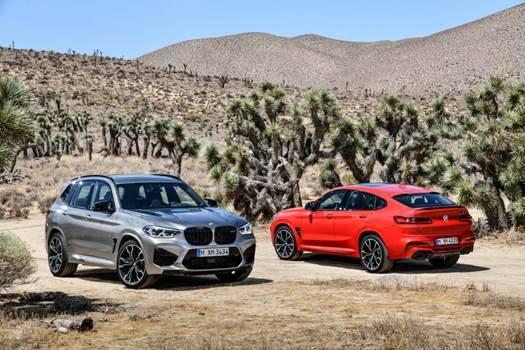 创新BMW X3M和创新BMW X4M震撼出击 拓展BMW M产品阵列