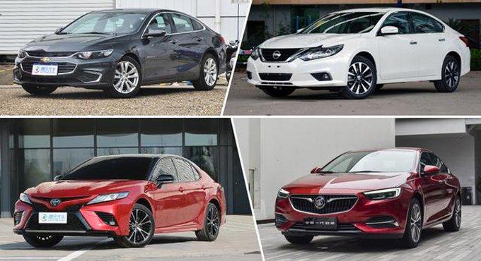 新产品看花眼?买这四款中级车不会后悔