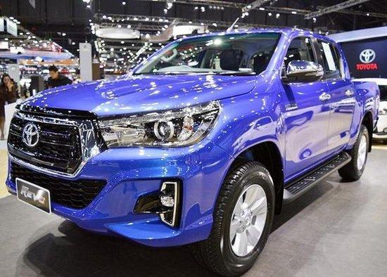 丰田最好卖的皮卡 新款Hilux正式发布