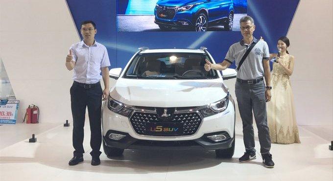 纳智捷中区第1台U5 SUV潮范登场 预售价7.58万起