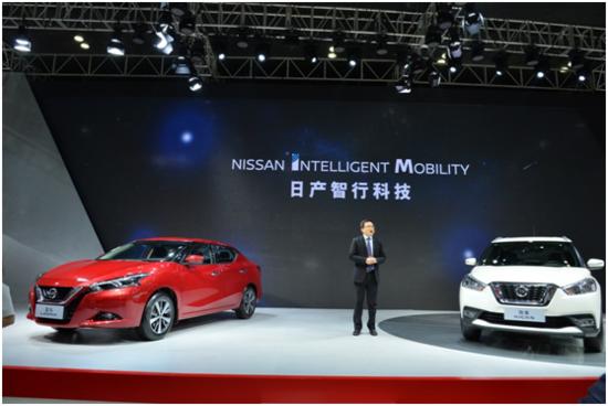 向智能化进化 东风日产闪耀长沙国际车展