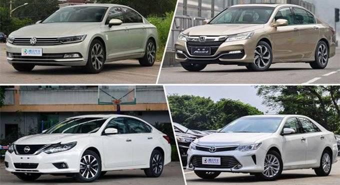 [导购强调口碑和产品力 点评7月份热销中级车