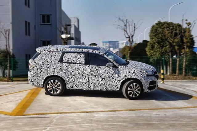 采用7座布局 奇瑞全新SUV将2月1日亮相