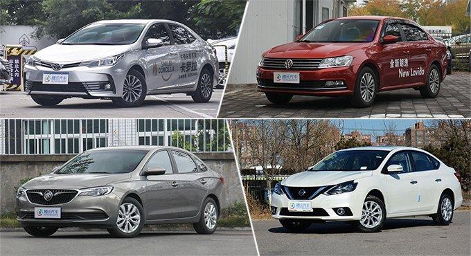 [导购] 10万级必看车型 月销两万+合资轿车推荐