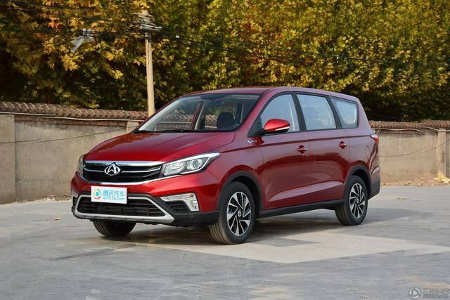 欧尚A800新车型上市 售价8.29-10.49万元