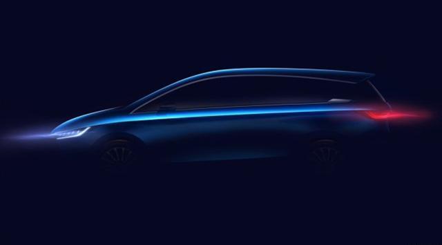比亚迪全新车型预告图 将于上海车展首发