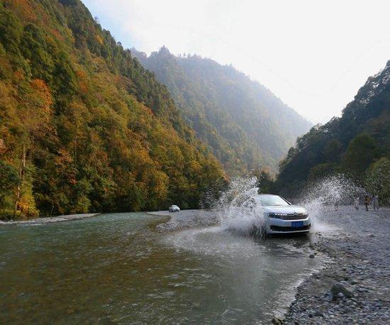 东风雪铁龙C6享你所想 二郎山喇叭河畅享之旅