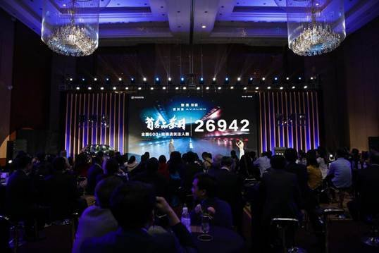 亚洲龙全面到店销售 订单突破10000台