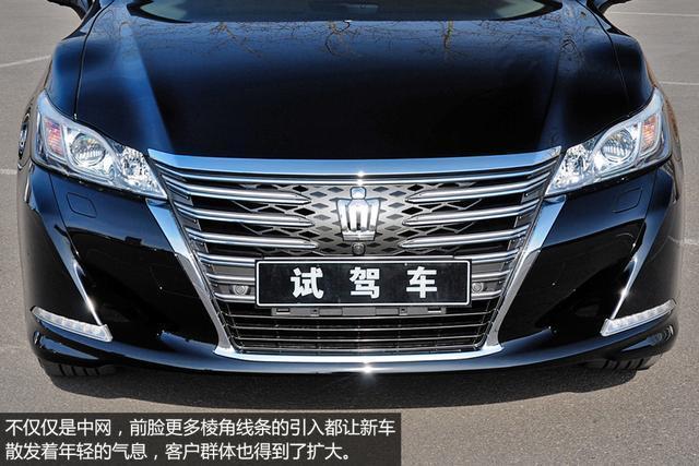 一汽丰田皇冠-丰田全新皇冠实拍 中高级轿车典范高清图片