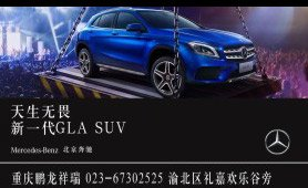 重庆鹏龙GLA SUV上市