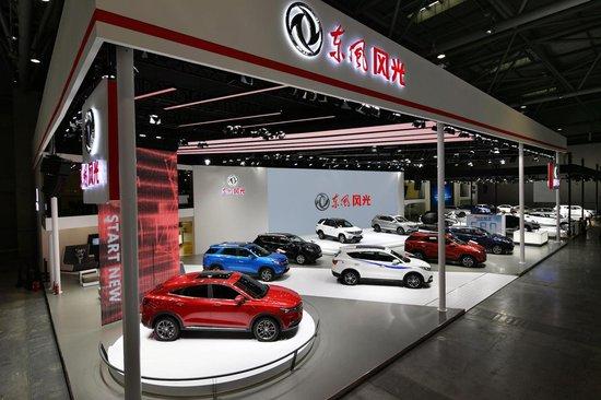风光S560 1.5T、风光580混动车型首次亮相重庆车展