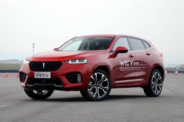 长城WEY VV7c/VV7s上市 售16.78-18.88万元