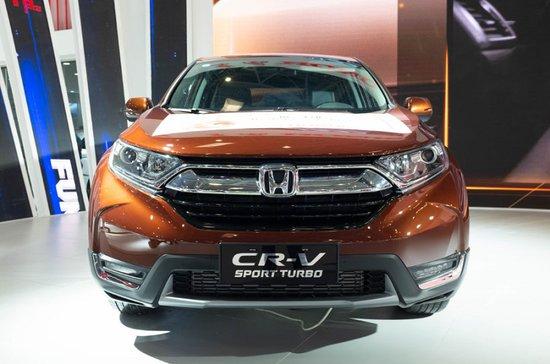 全新一代CR-V回归 东风Honda携全车系亮相重庆车展