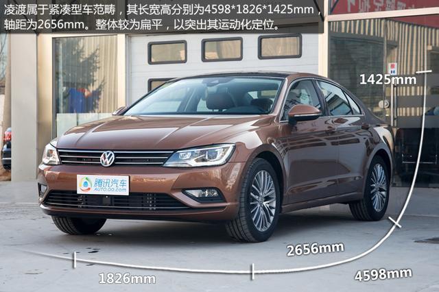 上海大众凌度团购报名 腾讯汽车爱车团 -上海大众凌渡实拍 轿跑式设计高清图片