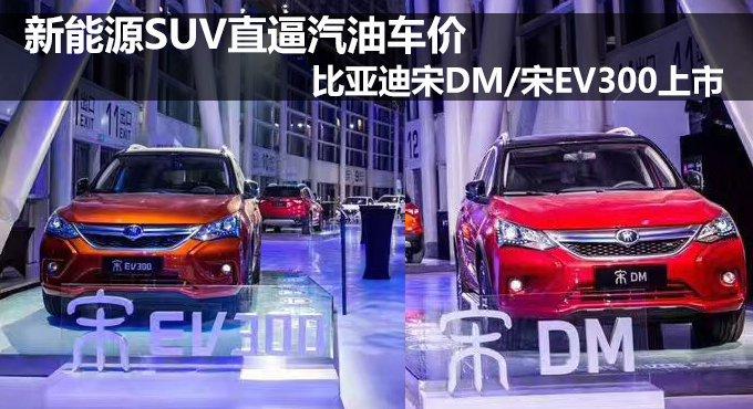 比亚迪宋DM/宋EV300上市