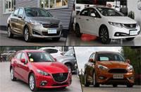 热门运动紧凑级轿车推荐 驾驶犀利动力强