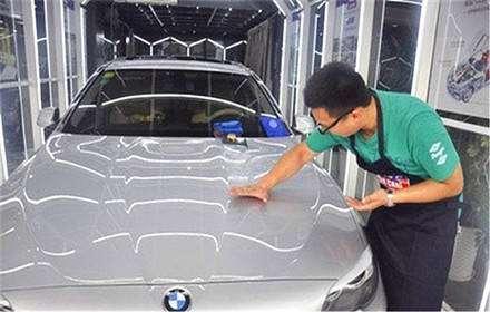 80%车漆都是洗坏的 你还在用蜡直接拖洗吗