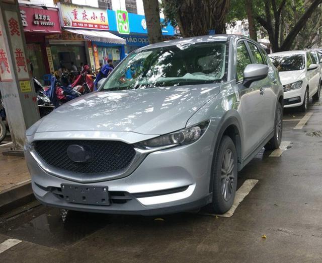 曝长安马自达全新CX-5最新谍照 颜值高
