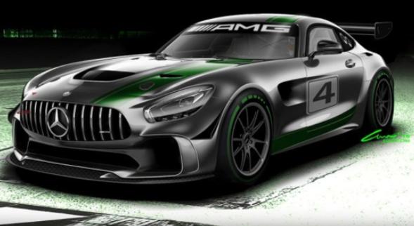 基于街版AMG-GT R打造 梅赛德斯GT4赛车