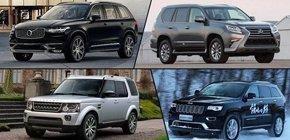 四款大中型豪华SUV推荐 非德系的选择