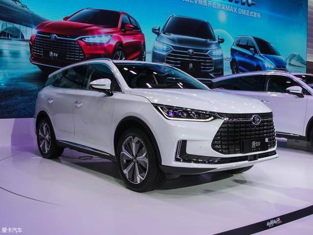 比亚迪唐EV将3月28日上市 推两款车型
