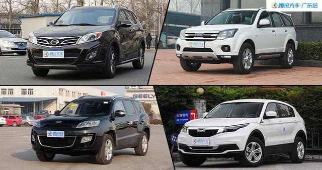 自主SUV推荐 传祺GS5/哈弗H5降1万