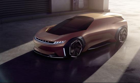 破茧而生 指引未来 EXEED星途品牌概念车 E-IUV亮相