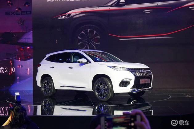 """奇瑞EXEED确认中文名""""星途"""" 首款SUV将明年年初上市"""