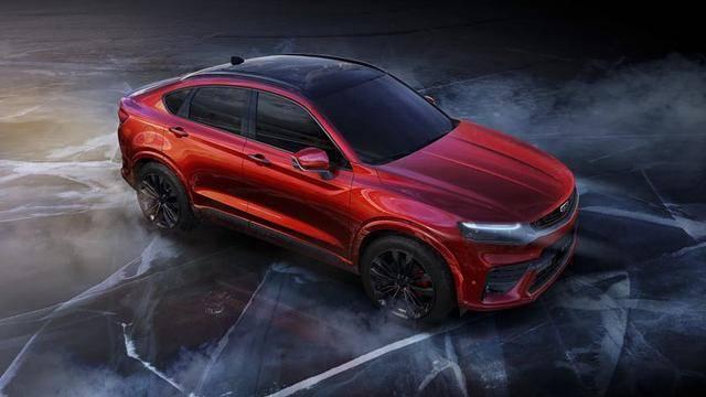 """吉利SUV""""FY11""""高清图曝光 采用溜背造型"""