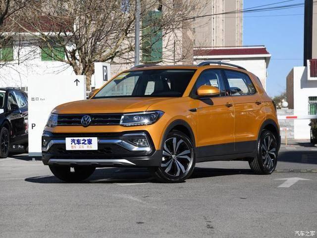 小型SUV 上汽大众T-Cross将于今日上市