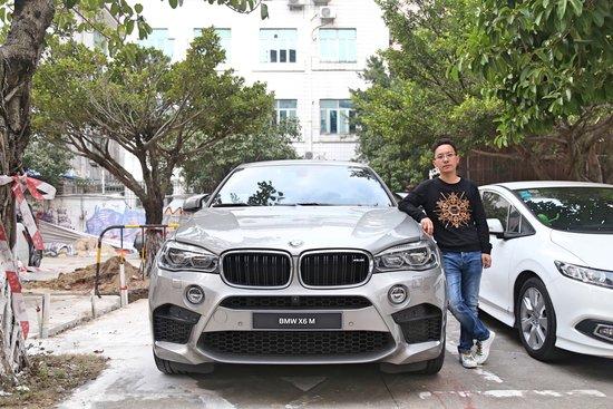 腾讯汽车深圳站专访深圳驰宝宝马X6M车主