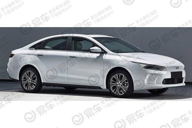吉利全新純電動三廂轎車申報圖曝光 或命名Ge11