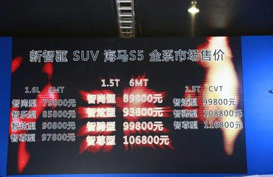 汽车携旗下全新产品海马s5运动版亮相2015广东国际汽车展示高清图片