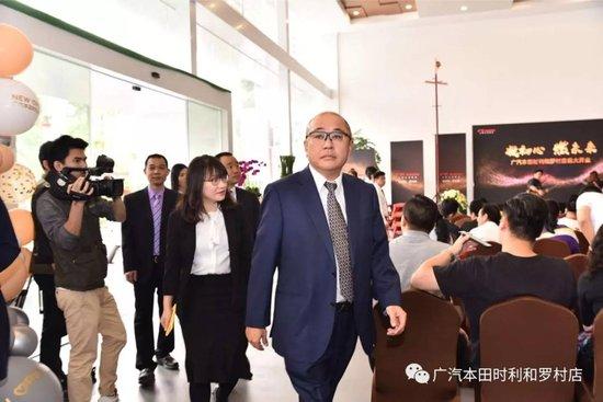 凝初心 燃未来丨广汽本田时利和罗村店 开业庆典圆满成功