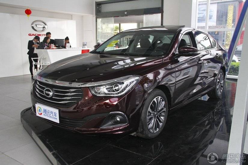 [腾讯行情]佛山 购传祺GA6钜惠达5000元