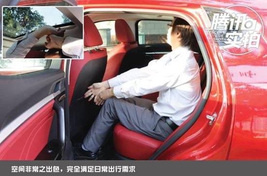 专为年轻人打造的一款车---长城哈弗F5实拍解析