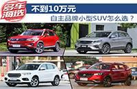 不到10万元 自主品牌小型SUV怎么选?