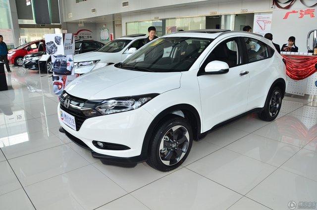 广汽本田小型SUV车型缤智售价为12.88-18.98万元,尽管定位小型高清图片
