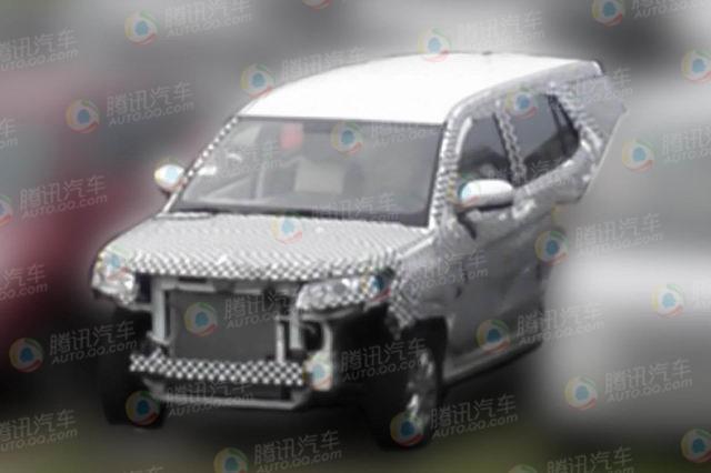 长安全新7座SUV谍照曝光 隶属商用车体系高清图片