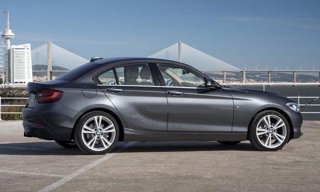 宝马全新1系Sedan轿车效果图 国产后竞争A3